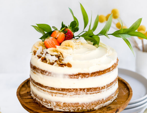 banana cake cream cheese frosting