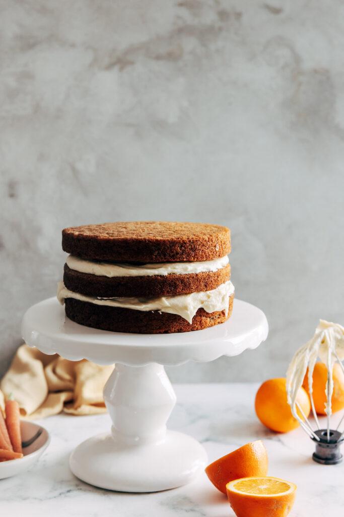 layering cake