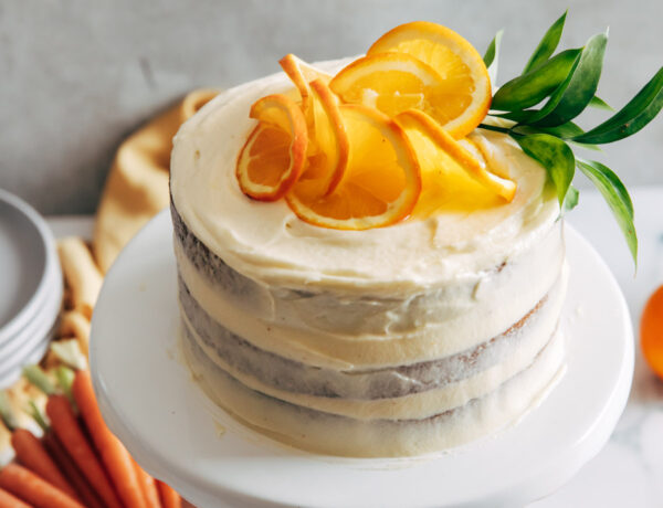 carrot cake decorated