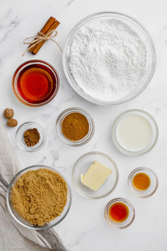 pumpkin cinnamon roll ingredients